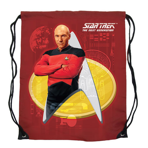 Star Trek Cinch Bag - Captain Picard -Geek Decor