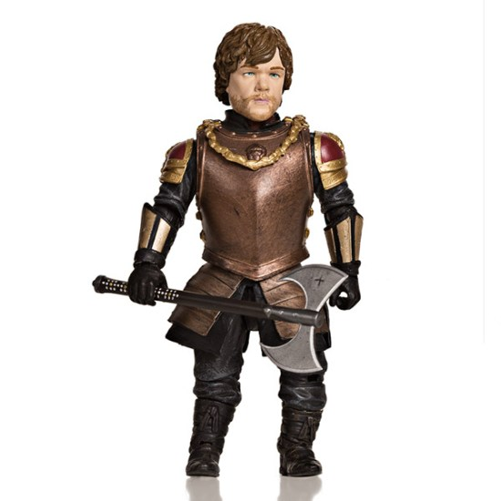 Tyrion Lannister Action Figure Front - Geek Decor