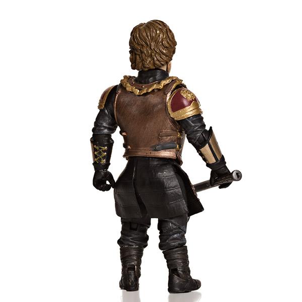 Tyrion Lannister Action Figure Back - Geek Decor