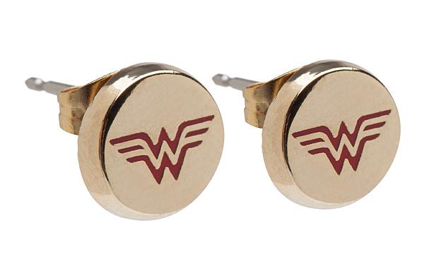 Wonder Woman Stud Earrings - Geek Decor