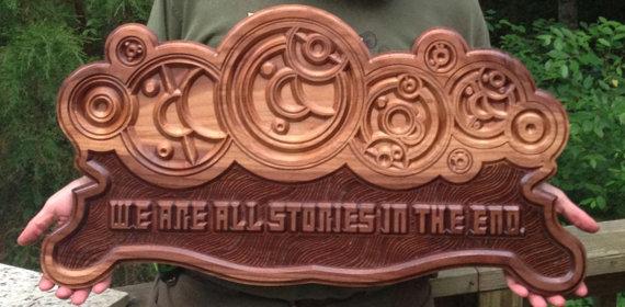 Wood By Hand, LLC. - Doctor Who - Geek Decor