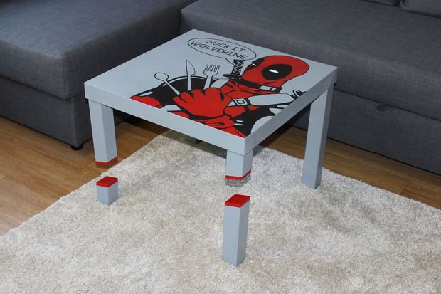 Build Your Own Deadpool Table