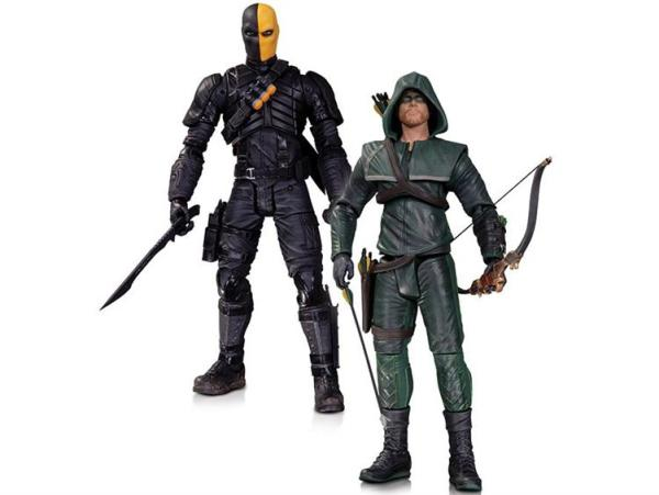 Arrow and Deathstroke Action Figure Two-Pack - Geek Decor