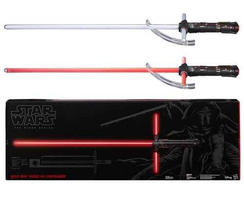 Kylo Ren Lightsaber - Geek Decor