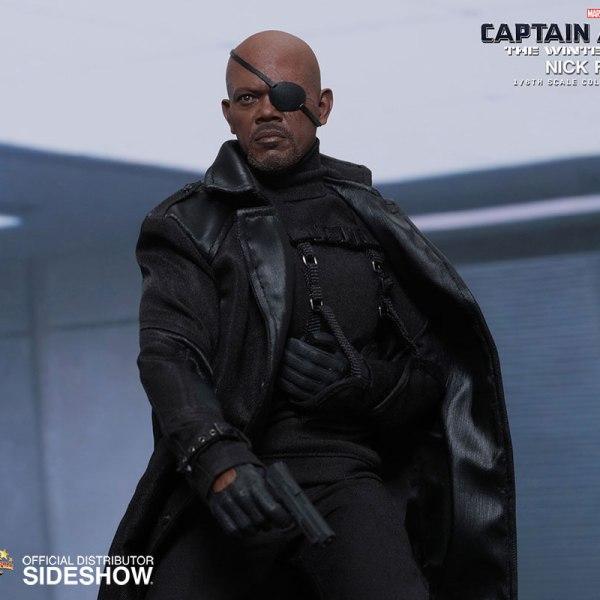 Nick Fury Figure Combat Mode - Geek Decor