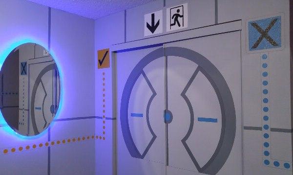 Portal Bedroom Chamber Door - Geek Decor