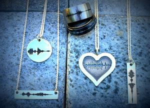Soundwave Art Jewelry - Geek Decor