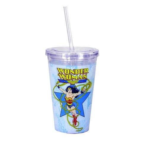 Wonder Woman Travel Cup - Geek Decor