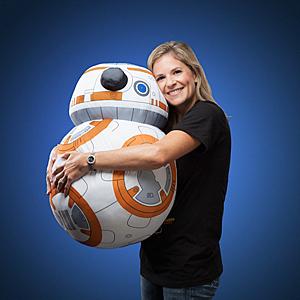 Hugging Life-Sized BB-8 Plush -- Geek Decor