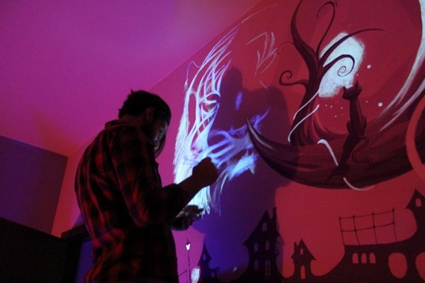 Dark Mural Ultraviolet Paint - Geek Decor