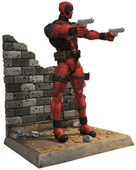 Deadpool Action Figure Front Side - Geek Decor