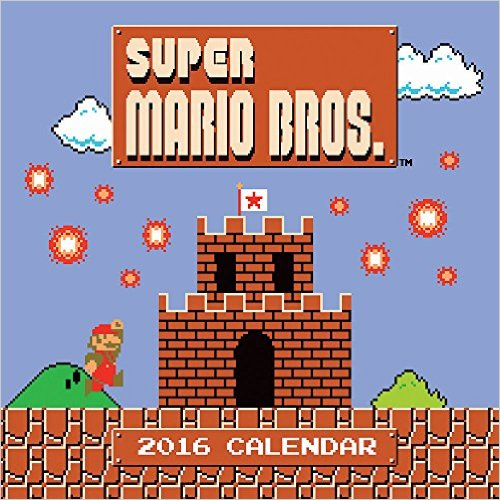 Mario Calendar - Cover - Geek Decor