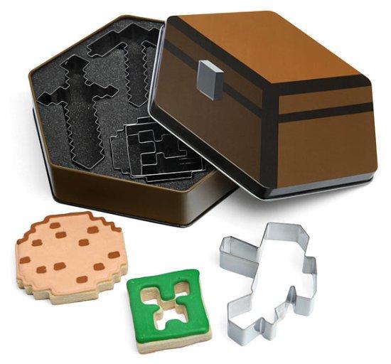 Minecraft Cookie Cutters - Geek Decor