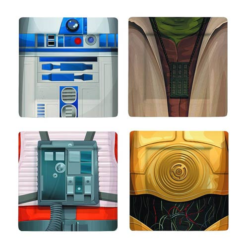 Star Wars Jedi Plate Set #2