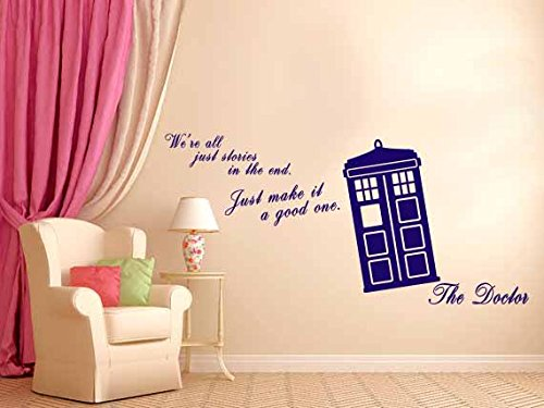 Doctor Who   Wall Decal   Geek Decor Part 59