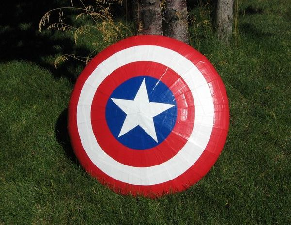 Captain America Shield Front - Geek Decor