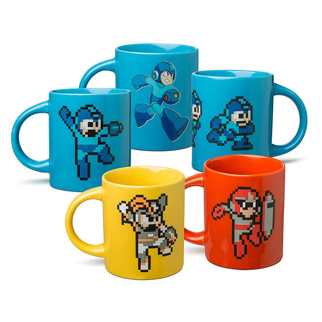 Geeky Mugs Roundup - Cthulhu, Daredevil, Mega Man & Doctor Who