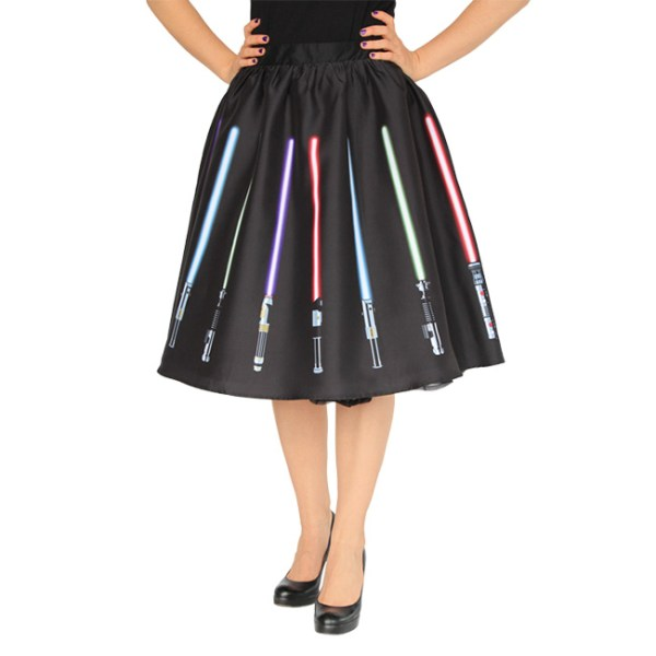 Lightsaber Circle Skirt - Geek Decor
