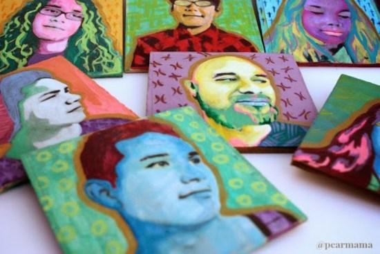 Pop Art Portraits - Geek Decor