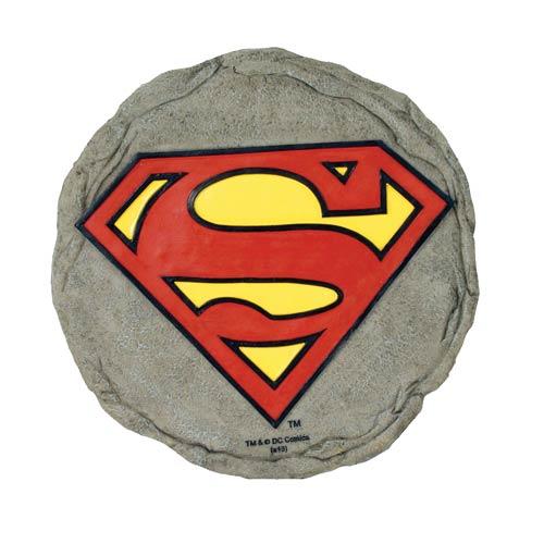 Superman Logo Stepping Stone - Geek Decor