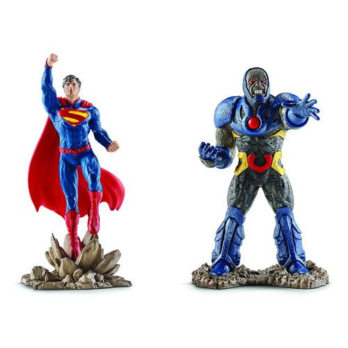 Superman Vs Darkseid Figurines - Geek Decor