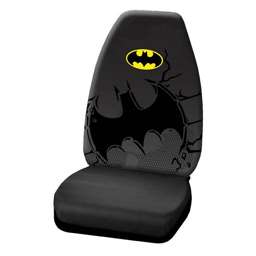 To the Batmobile Seat Covers!