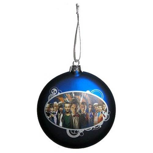 Doctor Who Glass Ball Ornament - Geek Decor