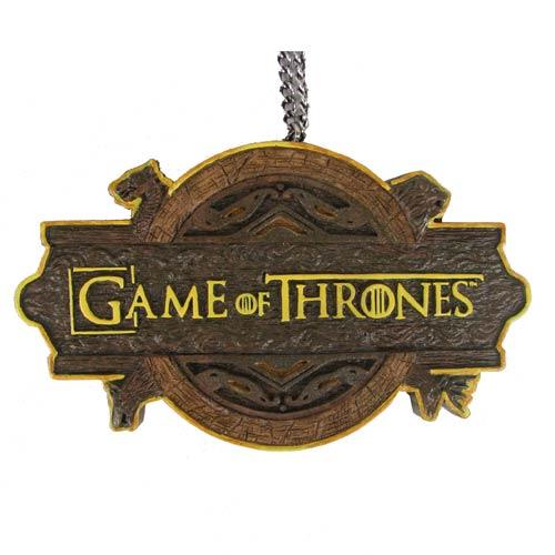 GOT Logo Ornament - Geek Decor