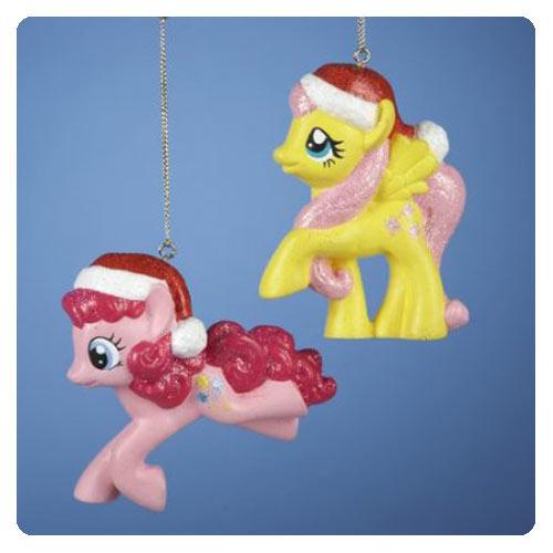 My Little Pony Figural Ornament Set - Geek Decor
