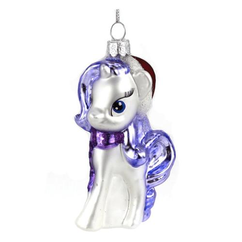 My Little Pony Rarity Glass Ornament - Geek Decor