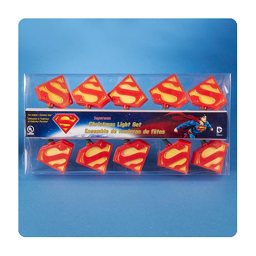 Superman Christmas Lights - Geek Decor