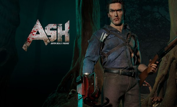 Sixth-Scale Ash Evil Dead, Glamour Shot -- Geek Decor