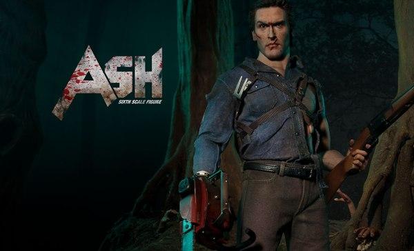 Sixth-Scale Ash Evil Dead, Glamour Shot -- Geek Decor