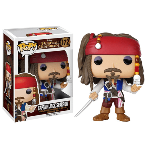 Jack Sparrow Pop Vinyl - Geek Decor