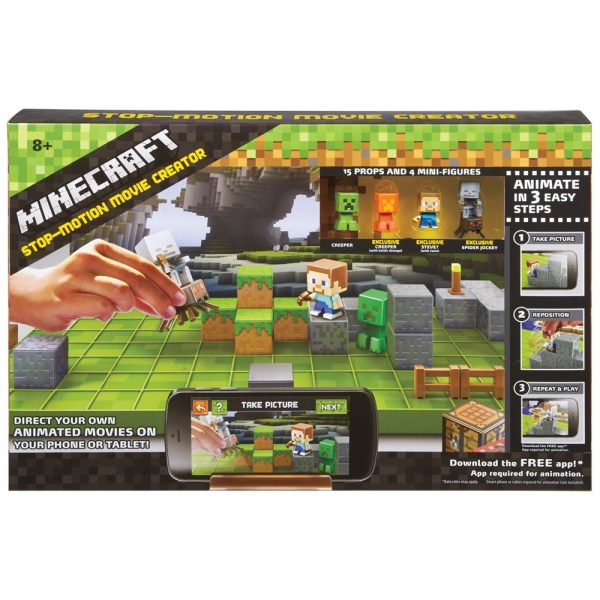 Minecraft Creator Kit - Geek Decor