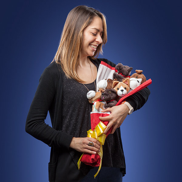 Plush Puppy Bouquet - Size - Geek Decor