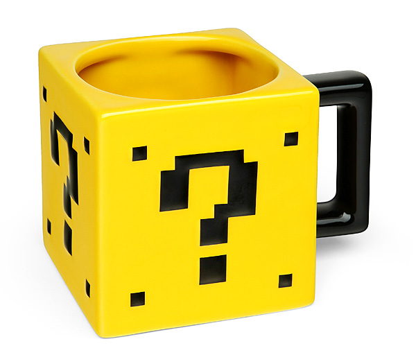 Power-Up Mug - Geek Decor