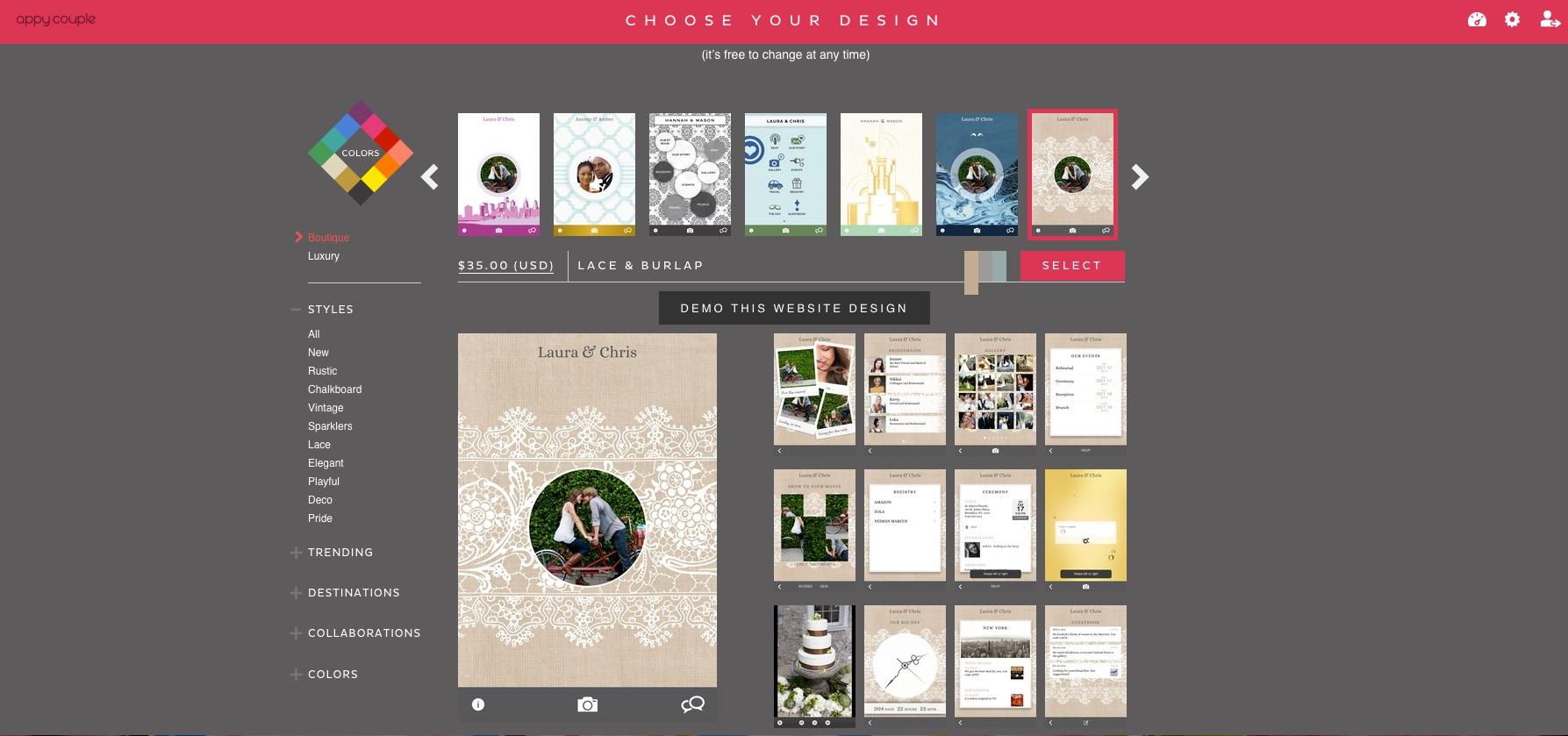 Crea il tuo inviti di nozze online immagini for Crea il tuo progetto online