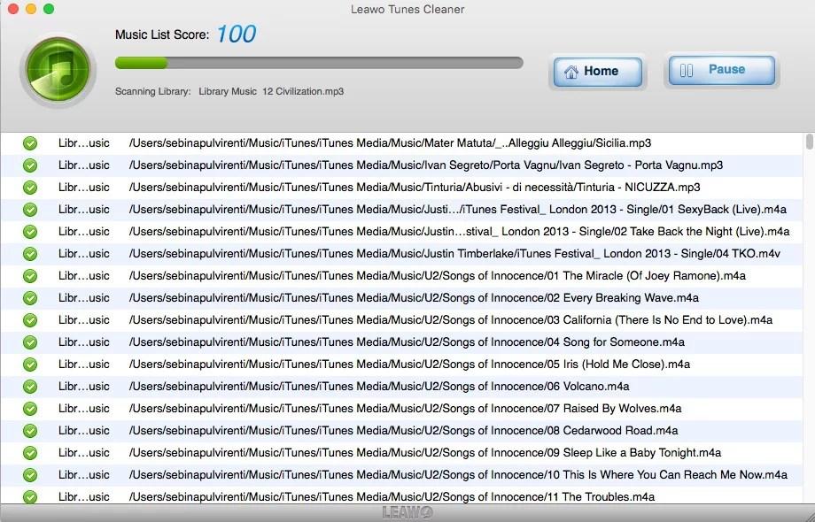 Come riorganizzare una libreria iTunes caotica con Leawo Tunes Cleaner
