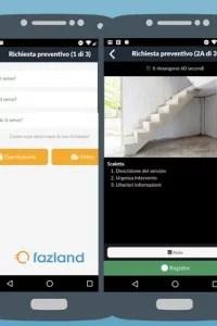 Fazland: l'app che rende più semplice richiedere preventivi