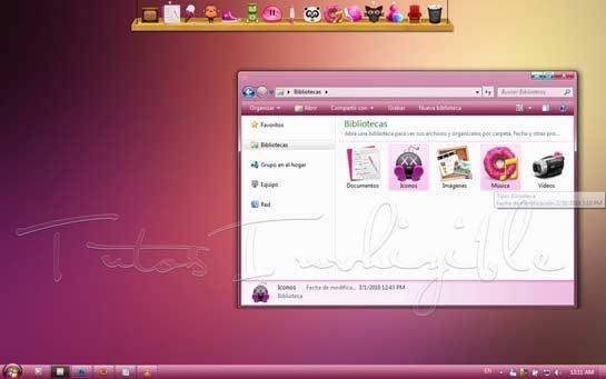Vista_pink_pastel Windows 7 theme 40+ Free Windows 7 Themes you would like to Download 40+ Free Windows 7 Themes you would like to Download Vista pink pastelwindows7theme1