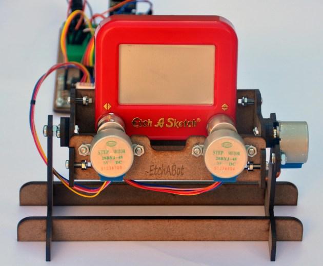 The EtchABot - a CNC Etch A Sketch