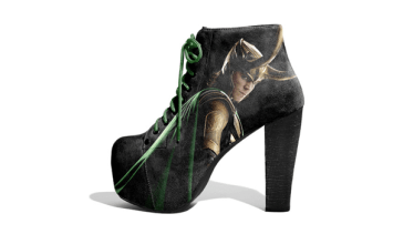 Avengers - Loki shoes by Lonely Soles