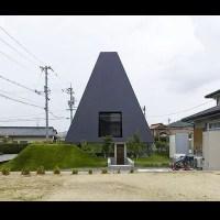 Criatividade: Uma casa em forma de pirâmide