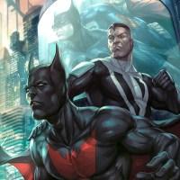 Fanart com belas ilustrações de Batman, Batgirl e Asa Noturna
