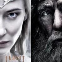 O Hobbit: A Batalha dos Cinco Exércitos | Gandalf e Galadriel em dois novos pôsteres do filme