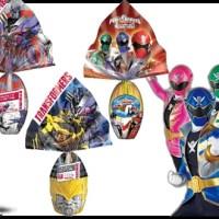 Top Cau traz os ovos dos Transformers e dos Power Rangers pra sua Páscoa
