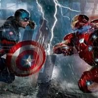 Capitão América 3: Guerra Civil   Primeira arte conceitual do filme mostra o Capitão contra o Homem de Ferro