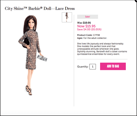 La Barbie di Michelle Visage