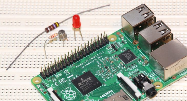 How to Control a LED With Raspberry PI GPIO and GeeXLab (in Lua or